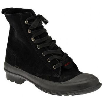 kengät Miehet Korkeavartiset tennarit Superga  Musta