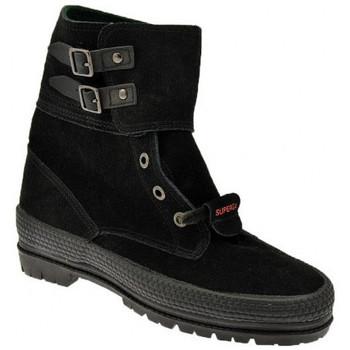 kengät Naiset Bootsit Superga  Musta