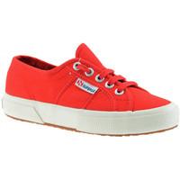 kengät Lapset Matalavartiset tennarit Superga  Punainen