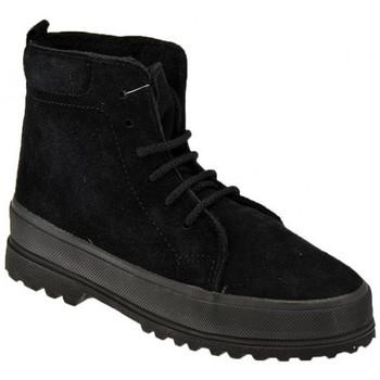 kengät Pojat Talvisaappaat Superga  Musta