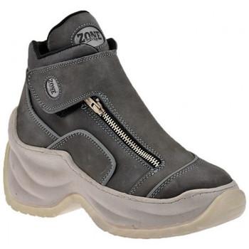 kengät Naiset Korkeavartiset tennarit Zone  Harmaa