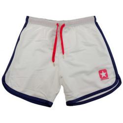 vaatteet Naiset Shortsit / Bermuda-shortsit Converse  Valkoinen