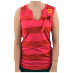 vaatteet Naiset Hihattomat paidat / Hihattomat t-paidat Converse  Vaaleanpunainen