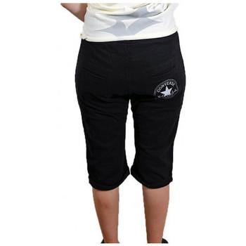 vaatteet Naiset Shortsit / Bermuda-shortsit Converse  Musta