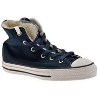 kengät Lapset Korkeavartiset tennarit Converse  Sininen