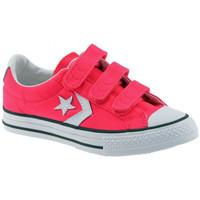 kengät Lapset Matalavartiset tennarit Converse  Vaaleanpunainen