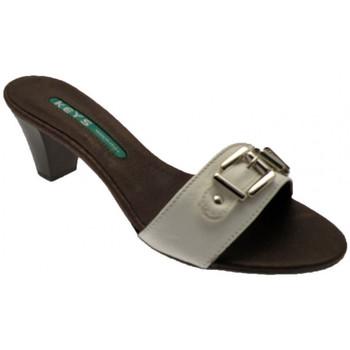 kengät Naiset Sandaalit Keys  Valkoinen