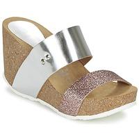 kengät Naiset Sandaalit Ganadora FLORA Argenté