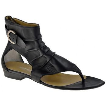 kengät Naiset Varvassandaalit Progetto  Musta