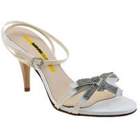 kengät Naiset Sandaalit ja avokkaat Lea Foscati  Valkoinen