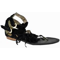 kengät Naiset Sandaalit ja avokkaat Swish  Musta
