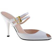 kengät Naiset Puukengät Charlize Italia  Valkoinen