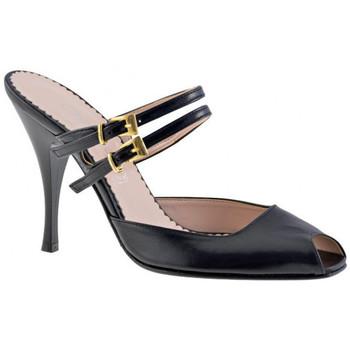 kengät Naiset Puukengät Charlize Italia  Musta