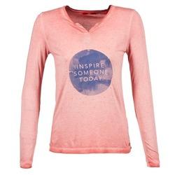 vaatteet Naiset T-paidat pitkillä hihoilla S.Oliver EVILUNE Terrakotta