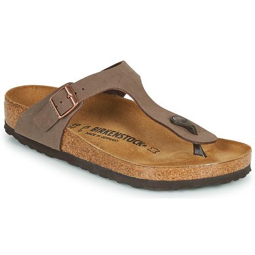 kengät Varvassandaalit Birkenstock GIZEH Ruskea