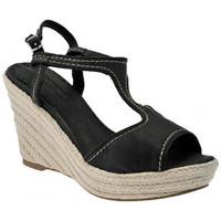 kengät Naiset Sandaalit ja avokkaat Donna Loka  Musta