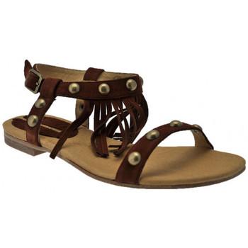 kengät Naiset Sandaalit ja avokkaat Donna Loka  Ruskea