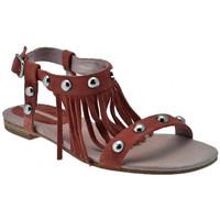 kengät Naiset Sandaalit ja avokkaat Donna Loka  Vaaleanpunainen