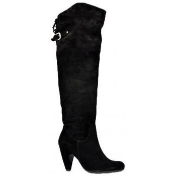 kengät Naiset Saappaat Sixt  Musta