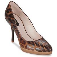 kengät Naiset Korkokengät Escada AS701 Brown / Leopardi