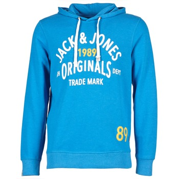 vaatteet Miehet Svetari Jack & Jones ATHLETIC SWEAT ORIGINALS Blue