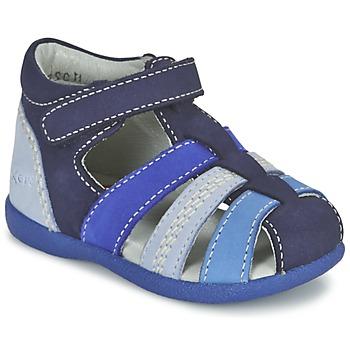 kengät Pojat Sandaalit ja avokkaat Kickers BABYSUN Laivastonsininen / Blue