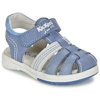 kengät Pojat Sandaalit ja avokkaat Kickers PLATINIUM Blue