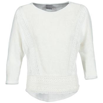 vaatteet Naiset T-paidat pitkillä hihoilla Vero Moda MYBELLA White