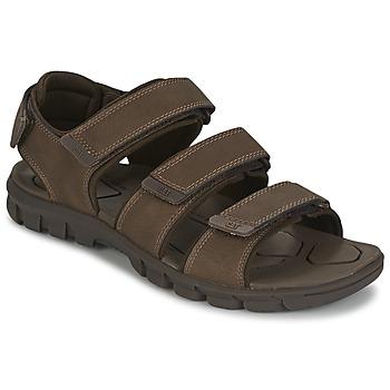 kengät Miehet Sandaalit ja avokkaat Caterpillar ENTRANT Brown