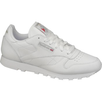 kengät Naiset Matalavartiset tennarit Reebok Sport Classic Leather 50151 Blanc