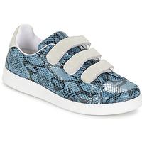 kengät Naiset Matalavartiset tennarit Yurban ETOUNATE Blue / Farkku