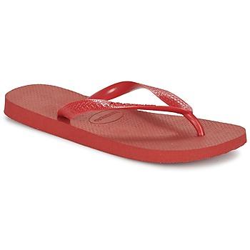 kengät Varvassandaalit Havaianas TOP Punainen