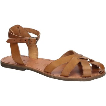 kengät Naiset Sandaalit ja avokkaat Gianluca - L'artigiano Del Cuoio 503 D CUOIO GOMMA Cuoio