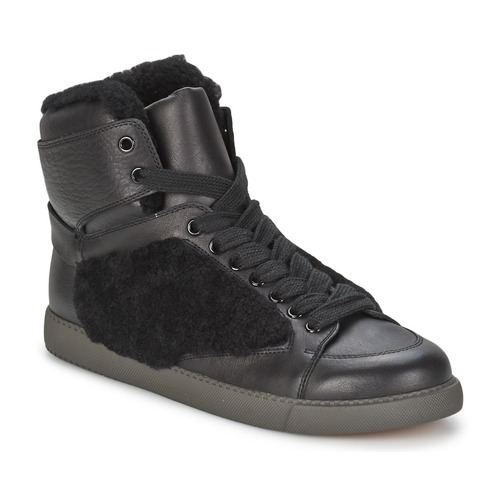 kengät Naiset Korkeavartiset tennarit See by Chloé SB23158 Black