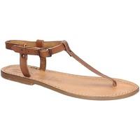 kengät Naiset Sandaalit ja avokkaat Gianluca - L'artigiano Del Cuoio 532 D CUOIO CUOIO Cuoio