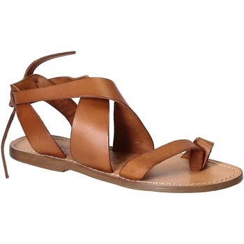 kengät Naiset Sandaalit ja avokkaat Gianluca - L'artigiano Del Cuoio 571 D CUOIO CUOIO Cuoio