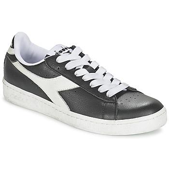 kengät Matalavartiset tennarit Diadora GAME L LOW Musta / Valkoinen