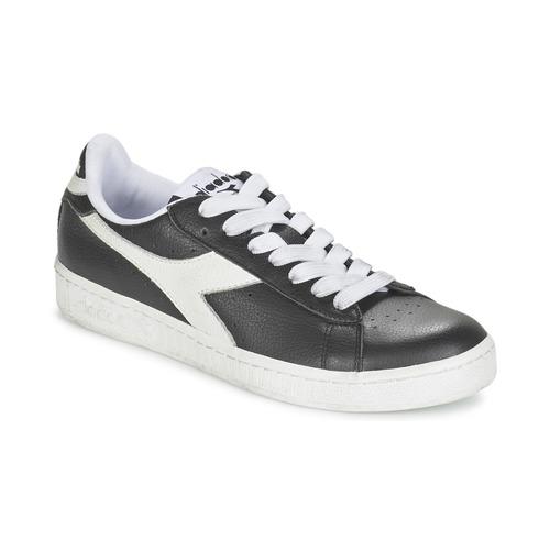 kengät Matalavartiset tennarit Diadora GAME L LOW Black / White