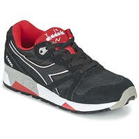 kengät Matalavartiset tennarit Diadora N9000 NYLON II Black / Red