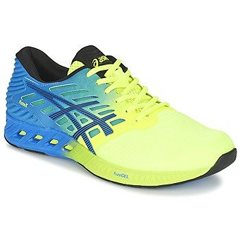 kengät Miehet Juoksukengät / Trail-kengät Asics FUZEX Blue / Yellow