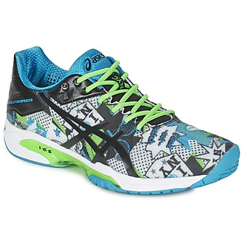 kengät Miehet Tenniskengät Asics GEL-SOLUTION SPEED 3 L.E. NYC White / Black / Blue