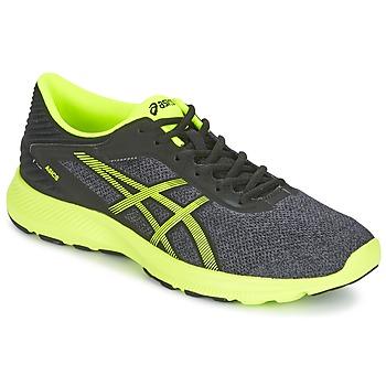 kengät Miehet Juoksukengät / Trail-kengät Asics NITROFUZE Grey / Yellow