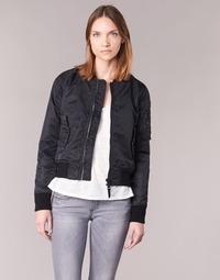 vaatteet Naiset Pusakka Schott BOMBER BY SCHOTT Black