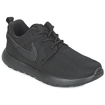 kengät Pojat Matalavartiset tennarit Nike ROSHE ONE CADET Black
