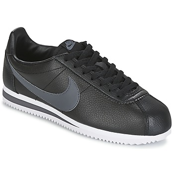 kengät Miehet Matalavartiset tennarit Nike CLASSIC CORTEZ LEATHER Black / Grey