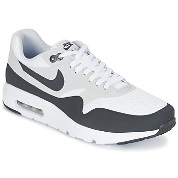kengät Miehet Matalavartiset tennarit Nike AIR MAX 1 ULTRA ESSENTIAL White / Grey