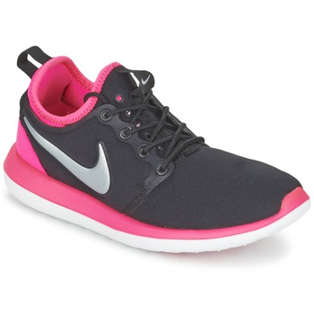 kengät Tytöt Matalavartiset tennarit Nike ROSHE TWO JUNIOR Black / Pink