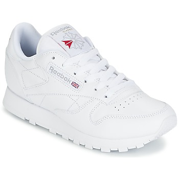 kengät Naiset Matalavartiset tennarit Reebok Classic CLASSIC LEATHER White