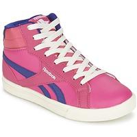 kengät Tytöt Korkeavartiset tennarit Reebok Classic REEBOK ROYAL COMP 2 Pink