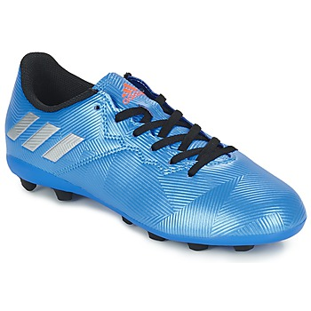 kengät Pojat Jalkapallokengät adidas Performance MESSI 16.4 FXG J Blue